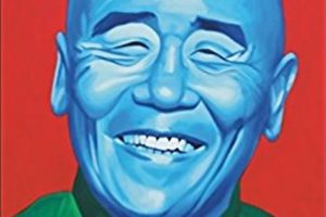 Ken Hom's smiling face on the cover of his book This Stir-fried Life